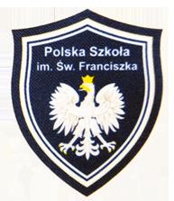 Tarcza polskiej Szkoly im. św. Franciszka w Erith